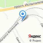 ПрофИнфоСервис на карте Санкт-Петербурга