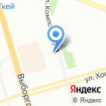 Equi на карте Санкт-Петербурга