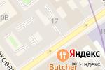 Схема проезда до компании Indagate в Санкт-Петербурге
