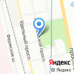 СК-Сервис на карте Санкт-Петербурга