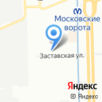 Норд-Металл на карте Санкт-Петербурга