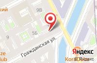 Схема проезда до компании Макровижн в Санкт-Петербурге