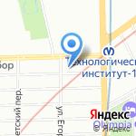 Отряд 001 на карте Санкт-Петербурга