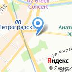 Золотозаказ на карте Санкт-Петербурга