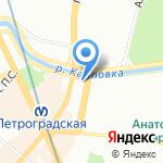 Лечи красиво на карте Санкт-Петербурга