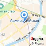 АлексА на карте Санкт-Петербурга