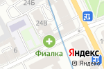 Схема проезда до компании Фиалка в Санкт-Петербурге