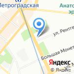 Детский сад №2 на карте Санкт-Петербурга
