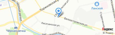 Инжир на карте Санкт-Петербурга