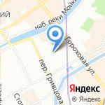 Пожарная автоматика на карте Санкт-Петербурга
