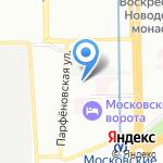 Невакон на карте Санкт-Петербурга