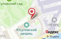 Схема проезда до компании ПГУПС в Санкт-Петербурге