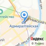 P.S. на карте Санкт-Петербурга