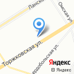 ЛенТрансАвто на карте Санкт-Петербурга