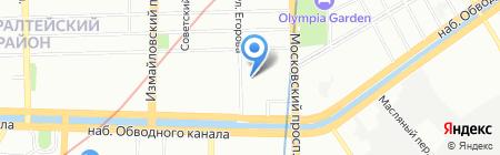 СтройГласс на карте Санкт-Петербурга