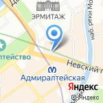 Примсоцбанк на карте Санкт-Петербурга