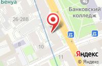 Схема проезда до компании Бриз в Санкт-Петербурге