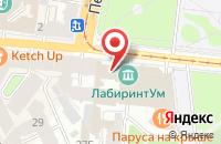 Схема проезда до компании Продиви в Санкт-Петербурге