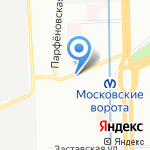 karzino на карте Санкт-Петербурга