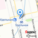Магазин сумок и меховых изделий на карте Санкт-Петербурга