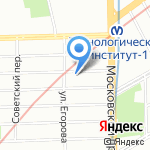 НОВАЯ РУСЬ на карте Санкт-Петербурга
