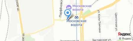 Терес-сервис на карте Санкт-Петербурга