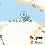 Старт Девелопмент на карте Санкт-Петербурга