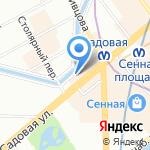 Нотариус Данилова Т.В. на карте Санкт-Петербурга