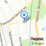 Информационно-методический центр Выборгского района на карте Санкт-Петербурга