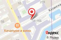 Схема проезда до компании Стереообои в Санкт-Петербурге