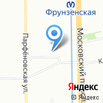 Классикум на карте Санкт-Петербурга