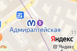 Схема проезда до компании Брови здесь в Санкт-Петербурге