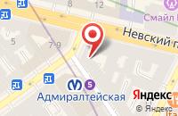 Схема проезда до компании Симпл плэй в Санкт-Петербурге