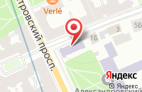 Схема проезда до компании Научно-Производственное Объединение «Радиевый Институт Имени В.Г. Хлопина» в Санкт-Петербурге
