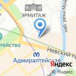 DHL Express на карте Санкт-Петербурга