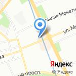 НИИ радиационной гигиены им. профессора П.В. Рамзаева на карте Санкт-Петербурга