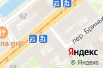 Схема проезда до компании Фергана в Санкт-Петербурге