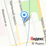 Шерлок Хаус на карте Санкт-Петербурга
