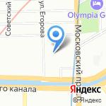 РАДЭК на карте Санкт-Петербурга