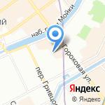 Санкт-Петербургский центр доступного жилья на карте Санкт-Петербурга