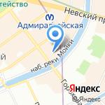 СМУ №2 трест №16 на карте Санкт-Петербурга