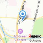 Prezent на карте Санкт-Петербурга