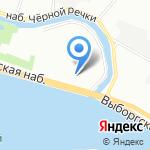 Риверсайд на карте Санкт-Петербурга