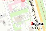 Схема проезда до компании Алькасар в Санкт-Петербурге