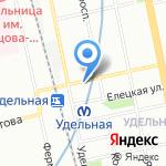 Магазин напитков и табака на карте Санкт-Петербурга