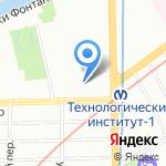 Детский сад №131 на карте Санкт-Петербурга