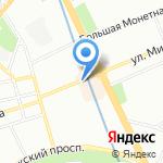 Ноосфера на карте Санкт-Петербурга