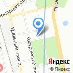 Стоматологическая поликлиника №4 на карте Санкт-Петербурга