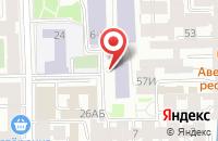Схема проезда до компании Оскар в Санкт-Петербурге
