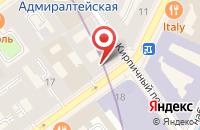 Схема проезда до компании Голдендакс в Санкт-Петербурге